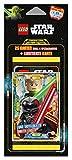 Top Media 180255 Lego Star Wars Sammelkarten, 5er Blister, Mehrfarbig