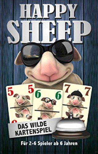 MIC Happy Sheep Spiel Gesellschaftsspiel - Kartenspiel - das Wilde Kartenspiel