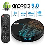 Android 9.0 TV Box HK1 Max's with Dual-WiFi 2.4GHz/5GHz 【4GB RAM 64GB ROM】
