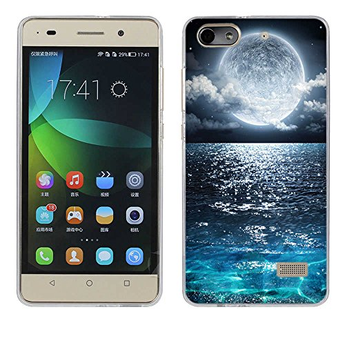Honor 4C Hülle Case, Fubaoda [Supermond] Ultra-Clear Huawei Honor 4C (G Play Mini) Case Silikon Soft TPU Premium Handyhülle Case Backcover Bumper Slim case für Huawei Honor 4C (G Play Mini)