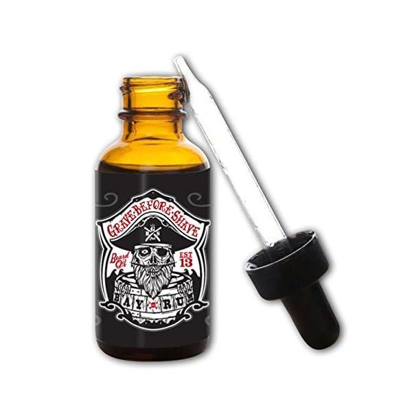 Grave Before Shave Bay Rum Beard Oil 1 Ounce Bottle 1
