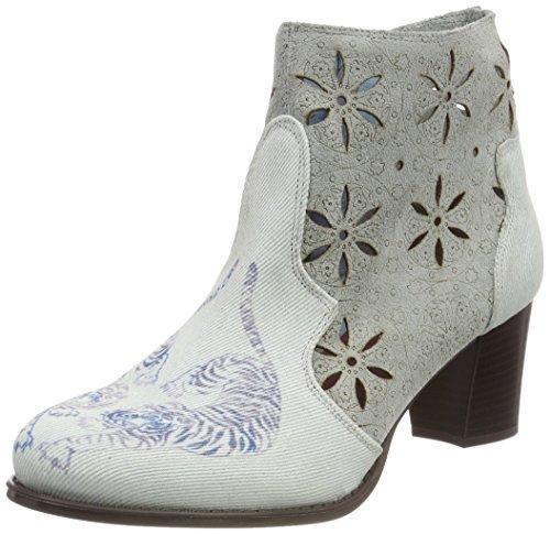 Desigual Damen Shoes_CRIS Tigers Stiefeletten, Blau (5094 Starlight Blue), 40 EU