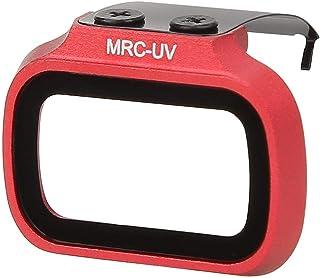 Filtro de Lente Drone Reemplazo de Actualización de Filtro de Lente de Cámara UV Resistente al Agua(Rojo)