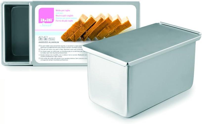 IBILI Loaf Pan 20 cm Metallic x 5 ☆ popular 11 2021 autumn and winter new 19 Aluminium