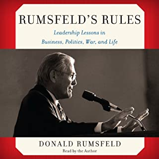Rumsfeld's Rules audiobook cover art