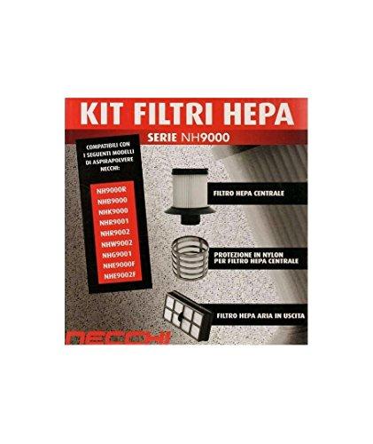 Kit filtri HEPA per aspirapolvere Necchi