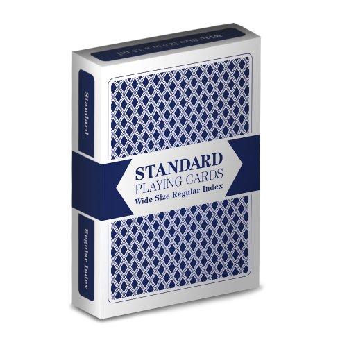 デッキの標準プラスチックコーティングPoker Playing Cards???Chooseカラー。