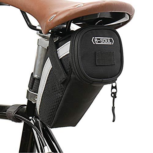 Ajcoflt Fahrradsatteltasche Fahrradsitz Rückentasche MTB Fahrradwerkzeug Aufbewahrungstasche für Mountainbikes, Fahrräder