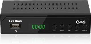 Digital Converter Box, ATSC Converter Box for Analog TV,1080P HD Converters with Recording, Pause Live TV,Multiple USB Playback ,TV Tuner (black1)
