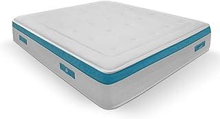 Duérmete Online Colchón Viscoelástico Visco SANEX Antibacterial | Alto Confort y Máxima Higiene | Altura 28 cm, Viscogel, 90x190