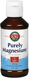 Kal 400 Mg Pure Purely Magnesium, 4 Fluid Ounce