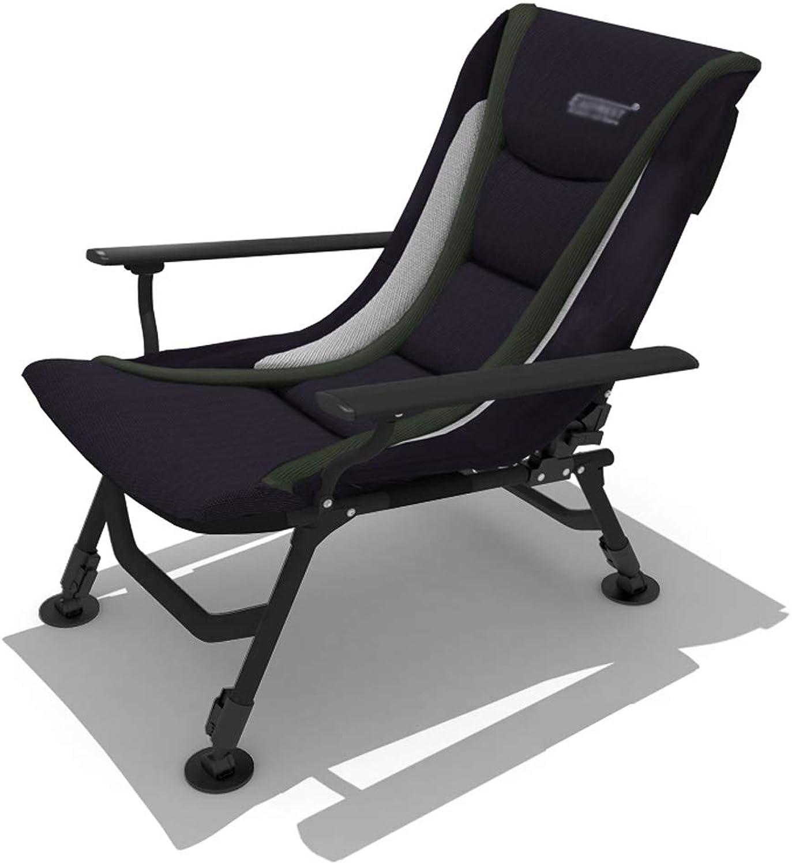 Stahllegierung Hochklappstuhl Recliner Stuhl Outdoor Freizeit Stuhl Angeln Stuhl Siesta Stuhl