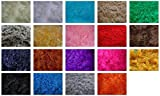 Fabrics-City % SCHWARZ TEDDY LANGHAAR FELL STOFF FELLIMITAT