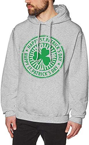 zhulaowufenbaoyouxi Männer irische St. Paddys Day Shamrock Sweatshirts Pullover Fleece Hoodies