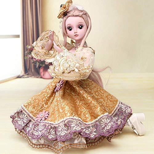 Reborn Baby Puppe 19 Gelenke, Mädchen können Sich umziehen, Kindergeburtstag, 60cm / 23,6 Zoll