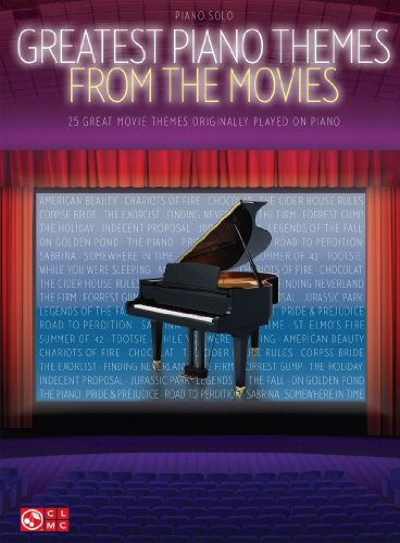 Greatest Piano Themes from the Movies: Piano Solo Songbook (English Edition)