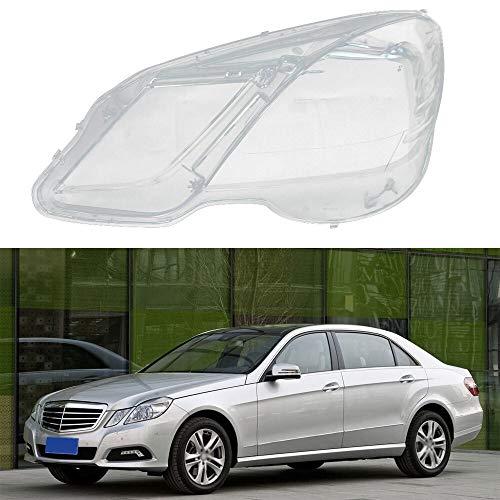 WSF-Headlight Cover, 1pc Scheinwerfer Transparent Lampshades Lampe Shell Masken vorne links / rechts Scheinwerfer Objektivabdeckung gepasst for Mercedes-Benz W212 2009-2014 ( Größe : Left light )