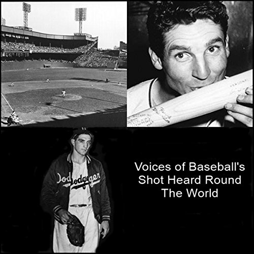 Voices of Baseball's Shot Heard Round the World audiobook cover art