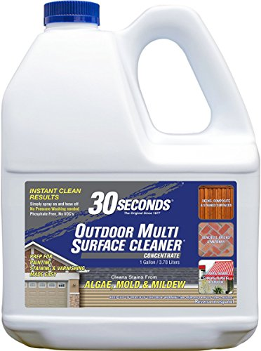 30 SECONDS Outdoor Multi Surface, 1 Gallon - Concentrate