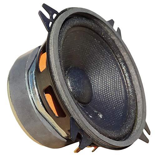 1 MIDRANGE CIARE CM100 CM 100 Altavoz 10,00 cm 100 mm 4' 60 vatios rms y 150 vatios máx con impedancia 4 ohmios sensibilidad 89 db para Coche, 1 Pieza
