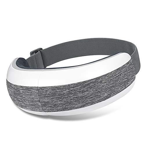 Masajeador Contorno De Ojos Dispositivo De Cuidado Ocular Eléctrico De CC con Vibración De Compresión Térmica Y Música Bluetooth Que Puede Mejorar Los Ojos Secos Y El Sueño,Music Version