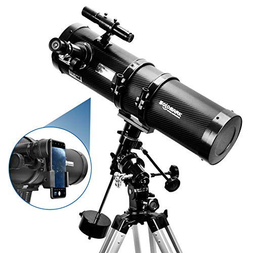 Telescope, Polaris 130EQ Newtonian Professional Astronomical Reflector Telescope Comes with...