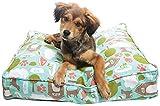 eLuxurySupply Pet Bed - Deluxe Cluster Fiber Filling Pet Beds for Dog...