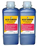 Eco Solvent Ink for Wide Format Printers Using DX4 DX5 DX7 Printhead, Mimaki, Roland, Printers (2 Cyan)