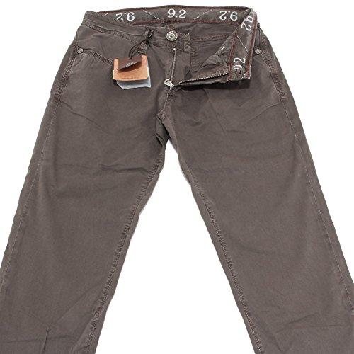 40600 Pantaloni Brown 9.2 Jeans Uomo Trousers Men CHIONNA Carlo [31]