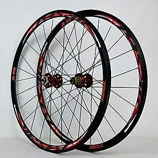700Cディスクブレーキロードバイクホイールセットクロスカントリー自転車ホイールV / Cブレーキ超軽量1700gリム30mm
