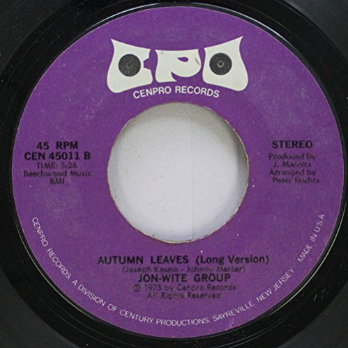 JON-WITE GROUP 45 RPM AUTUMN LEAVES (Long Version) / AUTUMN LEAVES