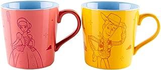 Disney Toy Story Woody And Bo Peep Set Of Two Mugs