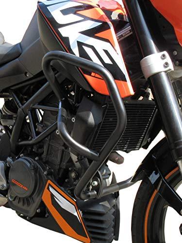 Defensa Protector de Motor Heed para Motocicletas 125 Duke (2011-2016) - Negro