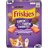 Purina Friskies Dry Cat Food, Surfin' & Turfin' Favorites - 16 lb. Bag