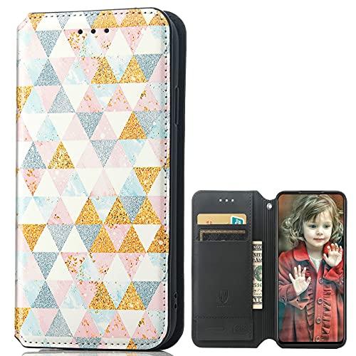 MingMing Lederhülle für Meizu 18 PRO 5G Hülle, Flip Hülle Schutzhülle Handy mit Kartenfach Stand & Magnet Funktion als Brieftasche, Tasche Cover Etui Handyhülle für Meizu 18 PRO 5G, CH05