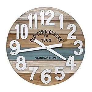 51p-r9UeNzL._SS300_ Coastal Wall Clocks & Beach Wall Clocks