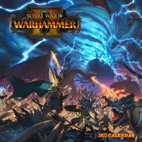 Total War WARHAMMER II 2022 Calendar: Games calendar 2022-2023-18 months- Planner Gifts boys girls kids and all Fans BIG SIZE 17''x11''