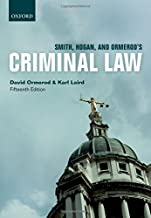 Smith, Hogan, & Ormerod's Criminal Law