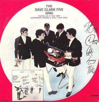 The Dave CLark Five Sing Card-Board…
