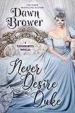Never Desire a Duke (The Neverhartts Book 6) (English Edition)