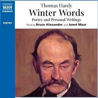 Winter Words audiobook cover art