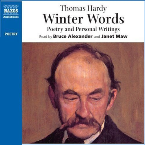 Winter Words audiobook cover art