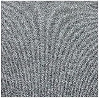 12'x12' Square - Smoke Gray - Economy Indoor/Outdoor Carpet Patio & Pool Area Rugs |Light Weight Indoor/Outdoor Rug - Easy Maintenance - Just Hose Off & Dry! - 10 Colors to Choose from