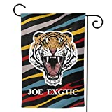 Free Joe Exotic Tiger King Garden Flag Welcome Banner for Patio Lawn Party Vivid Color Yard Home Outdoor Decoration -  HIRUKAZA