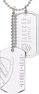 Armour Supply Co. Military Dog Tags Men - Stainless Steel Dogtag Army Tactical Necklace Chain