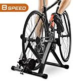 HEALTH LINE PRODUCT Bike Trainer Stand, Indoor Magnetic Bicycle...