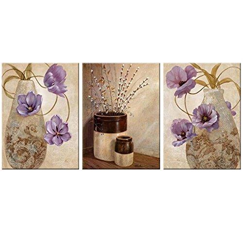 Mr.Zhang's Art Home Painting Salon de Style Européen Peinture canapé Fond Peinture Murale Entrée Restaurant Chambre Chevet Frameless Triple Murale