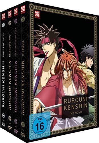 Rurouni Kenshin - Gesamtausgabe - Bundle - (OVAs + Movie) - [DVD]