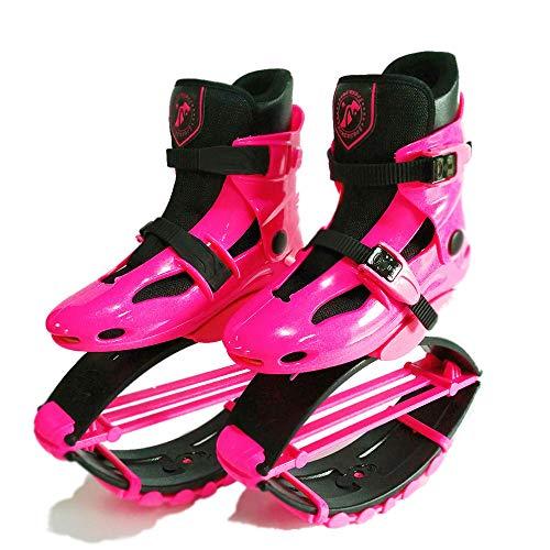 gengyouyuan Zapatos de elástico Salto fácilmente Espacio Gorila Salto Zapatos zancos Rebote Zapatos