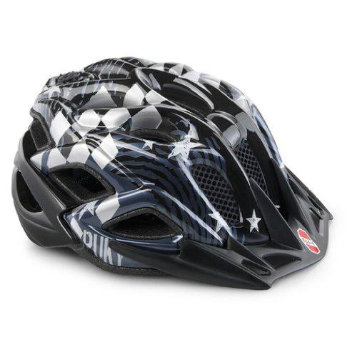 Puky PH 5 Kinder Fahrrad Helm (52-59cm) Crusader/schwarz